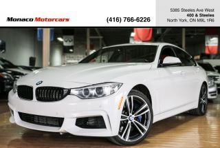 Used 2016 BMW 4 Series 435i xDrive Gran Coupe - MSPORT|M.PERF|NAVI|BACKUP for sale in North York, ON