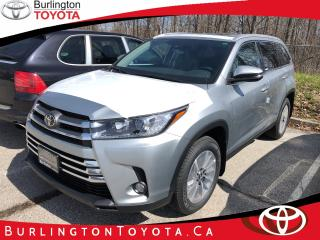 New 2019 Toyota Highlander XLE for sale in Burlington, ON