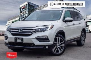 Used 2016 Honda Pilot Touring 9AT AWD No Accident| DVD| Remote Start for sale in Thornhill, ON