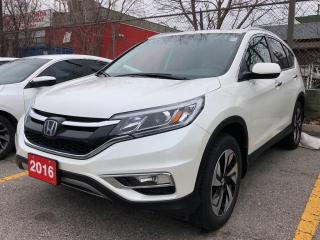 Used 2016 Honda CR-V Touring, one owner, clean carfax for sale in Toronto, ON