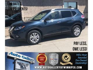 Used 2016 Nissan Rogue SV *AWD/Htd Seats/Bluetooth for sale in Winnipeg, MB