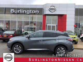 Used 2018 Nissan Murano SL, ACCIDENT FREE, EX RENTAL for sale in Burlington, ON