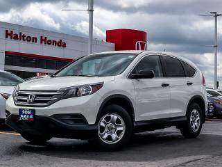 Used 2014 Honda CR-V LX 2WD|SERVICE HISTORY ON FILE for sale in Burlington, ON