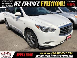 Used 2014 Infiniti QX60 Premium HYBRID | AWD | 7 PASS | LEATHER | LOADED for sale in Hamilton, ON