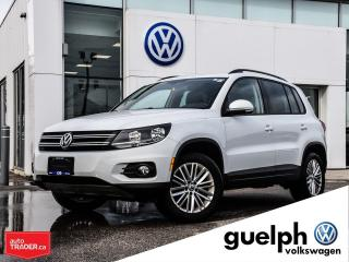 Used 2016 Volkswagen Tiguan Special Edition w/ New Brakes for sale in Guelph, ON