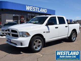 Used 2017 RAM 1500 SXT CrewCab 4x4 for sale in Pembroke, ON