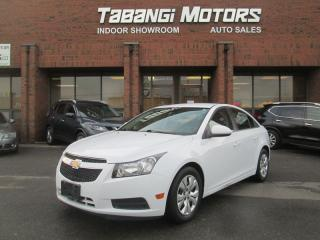 Used 2013 Chevrolet Cruze LT   NO ACCIDENTS   KEYLESS   CRUISE   BLUETOOTH for sale in Mississauga, ON