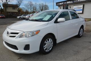 Used 2013 Toyota Corolla 4dr Sdn, auto, a/c, 2 sets of tires for sale in Halton Hills, ON