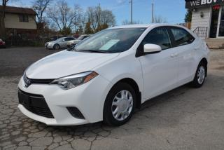 Used 2015 Toyota Corolla LE, Auto, 1 owner, no accidents for sale in Halton Hills, ON