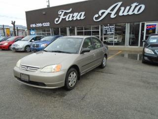 Used 2003 Honda Civic DX-G auto for sale in Scarborough, ON