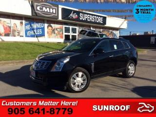 Used 2016 Cadillac SRX Luxury  NAV CUE ROOF CAM BS BOSE HS MEM for sale in St. Catharines, ON
