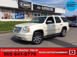 Used 2013 GMC Yukon Denali  AWD NAV ROOF DVD CS BS BOSE 7-PASS for sale in St. Catharines, ON