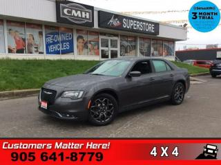 Used 2018 Chrysler 300 S  AWD NAV PANO-ROOF CAM LEATH APPLE-PLAY for sale in St. Catharines, ON