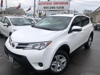 Used 2015 Toyota RAV4 Prl White LE AWD Camera/Btooth/Htd Sts&GPS* for sale in Mississauga, ON