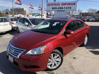 Used 2015 Nissan Sentra SL Navigation/Camera/Sunroof/Htd Leather for sale in Mississauga, ON