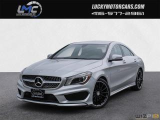 Used 2015 Mercedes-Benz CLA-Class CLA250 4MATIC AMG PKG-BACKUP CAM-NAVI-LEDS-BLINDSPOT for sale in North York, ON
