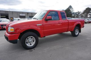 Used 2007 Ford Ranger Sport V6 3.0L Super Cab 4 Door 5Spd *One Owner*No Accident* Certified 2Yr Warranty for sale in Milton, ON