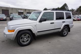 Used 2006 Jeep Commander SPORT AWD V8 AUTO 7 PASSENGER CERTIFIED 2YR WARRANTY AUX CRUISE ALLOYS for sale in Milton, ON