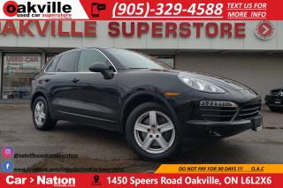Used 2013 Porsche Cayenne V6 | SUNROOF | SPORT CHRONO | VERY LOW KM for sale in Oakville, ON