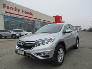 Used 2016 Honda CR-V SE, HONDA CERTIFIED! for sale in Brampton, ON