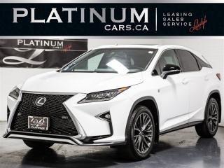 Used 2017 Lexus RX 350 F-SPORT, NAVI, RED VENTED SEATS, BLINDSPOT for sale in Toronto, ON