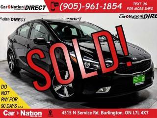 Used 2018 Kia Forte LX+| BACK UP CAMERA| HEATED SEATS| for sale in Burlington, ON