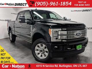 Used 2019 Ford F-250 Platinum| TURBO DIESEL| PANO ROOF| NAVI| for sale in Burlington, ON