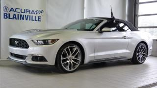 Used 2015 Ford Mustang EcoBoost Premium Convertible for sale in Blainville, QC