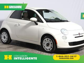 Used 2014 Fiat 500 Pop for sale in St-Léonard, QC