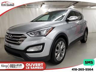 Used 2015 Hyundai Santa Fe Sport Ltd Turbo Awd Gps for sale in Québec, QC