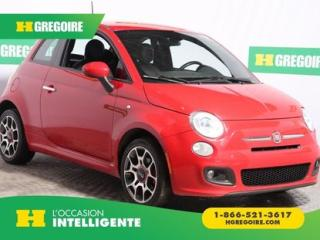 Used 2015 Fiat 500 SPORT A/C CUIR for sale in St-Léonard, QC
