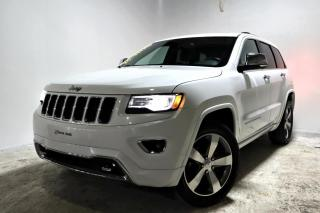 Used 2016 Jeep Grand Cherokee OVERLAND *TOIT PANO*GPS* 8 PNEUS* for sale in Brossard, QC