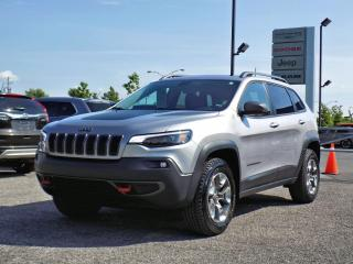 Used 2019 Jeep Cherokee TRAILHAWK ELITE 4X4 *CUIR*TOIT PANO*V6* for sale in Brossard, QC