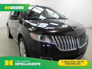 Used 2013 Lincoln MKX AWD CUIR TOIT for sale in St-Léonard, QC