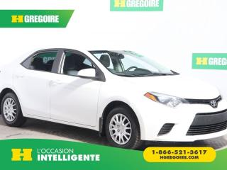 Used 2014 Toyota Corolla Ce A/c Bluetooth for sale in St-Léonard, QC
