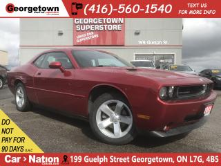 Used 2009 Dodge Challenger SE/SXT | LEATHER | ROOF | CLEAN CARFAX |HTD SEATS for sale in Georgetown, ON