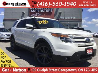 Used 2012 Ford Explorer Limited  4X4 LEATHER NAVI BU CAM 7 PASSENGER for sale in Georgetown, ON