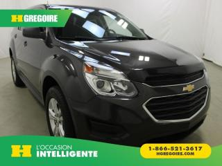 Used 2016 Chevrolet Equinox LS AWD A/C GR for sale in St-Léonard, QC
