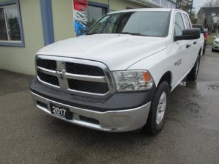 Used 2017 Dodge Ram 1500 WORK READY SLT MODEL 6 PASSENGER 5.7L - V8.. 4X4.. QUAD-CAB.. SHORTY.. AUX/USB INPUT.. TOW SUPPORT.. KEYLESS ENTRY.. for sale in Bradford, ON