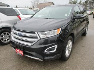 Used 2015 Ford Edge ALL-WHEEL DRIVE SEL MODEL 5 PASSENGER 3.5L - V6.. LEATHER.. HEATED SEATS.. NAVIGATION.. POWER SUNROOF.. BACK-UP CAMERA.. BLUETOOTH SYSTEM.. for sale in Bradford, ON