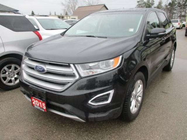 2015 Ford Edge ALL-WHEEL DRIVE SEL MODEL 5 PASSENGER 3.5L - V6.. LEATHER.. HEATED SEATS.. NAVIGATION.. POWER SUNROOF.. BACK-UP CAMERA.. BLUETOOTH SYSTEM..
