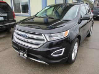 Used 2016 Ford Edge ALL-WHEEL DRIVE SEL MODEL 5 PASSENGER 2.0L - ECO-BOOST.. LEATHER.. HEATED SEATS.. NAVIGATION.. BACK-UP CAMERA.. POWER SUNROOF.. BLUETOOTH.. for sale in Bradford, ON