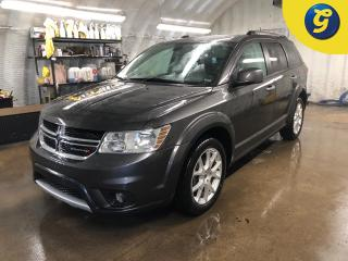Used 2018 Dodge Journey GT * AWD * Navigation * Sunroof * Leather * 8.4 inch touchscreen U connect *  Overhead DVD player * Remote Start * 7 passenger *  Push button ignition for sale in Cambridge, ON