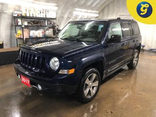 Used 2017 Jeep Patriot High Altitude * 4WD * Leather * Sunroof * Keyless entry * Heated seats/mirrors * Climate control * Phone connect * Voice recognition * Hands free Stee for sale in Cambridge, ON