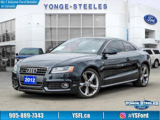 Used 2012 Audi A5 for sale in Thornhill, ON