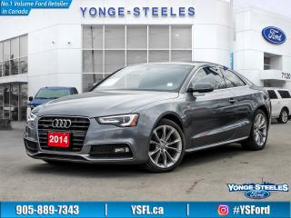 Used 2015 Audi A5 Komfort for sale in Thornhill, ON