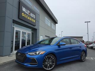 Used 2018 Hyundai Elantra 1.6turbo Sport for sale in St-Georges, QC