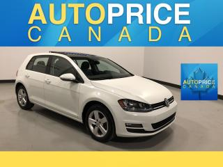 Used 2016 Volkswagen Golf 1.8 TSI Comfortline NAVIGATION|PANOROOF|LEATHER for sale in Mississauga, ON