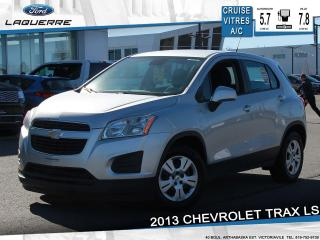 Used 2013 Chevrolet Trax Ls Bleutooth Cruise for sale in Victoriaville, QC