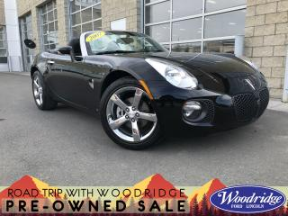 Used 2007 Pontiac Solstice GXP 2.0L TURBO, LEATHER SEATS, CONVERTIBLE, MANUAL, NO ACCIDENTS for sale in Calgary, AB